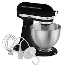 KitchenAid Mixer 4 Point 5 Quart Black