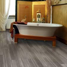 Vinyl Bathroom Floors Trafficmaster Allure Plus 5 In X 36 In Grey Maple Luxury Vinyl