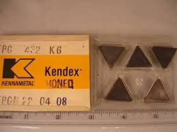 Kennametal Tpg 432 K6 Kennametal Carbide Inserts 5pcs