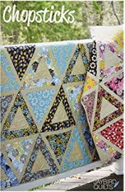 Amazon.com: Creative Grids 60 Degree Equilateral Triangle 12.5 ... & Jaybird Quilts JBQ111 Chopsticks Pattern Adamdwight.com