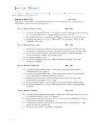 Demand Planner Resume Sample Production Demand Planner Resume