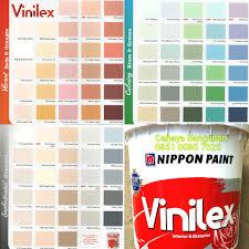 cat tembok vinilex kembang bunga 5000 galon 5kg 5 kg nippon paint