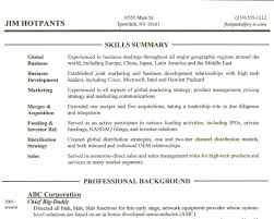 Resume With Qualifications Summary Blood Bank Manager Sample