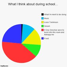 funny pie charts about school image tagged in funny pie charts imgflip