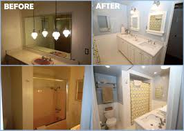 Stunning Bathroom Remodeling Ideas Before And After With Before - Bathroom remodel before and after pictures