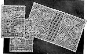 Filet Crochet Patterns Magnificent Filet Crochet Pattern And Chart Butterflies In The Garden