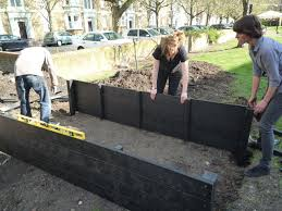 raised garden beds plastic or wood recycled mixed case study education with legs on black full