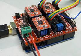 cnc arduino shield robotics for