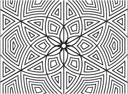 Geometric Design Coloring Pages Free Printable Geometric Design