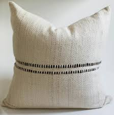 Designer Decorative Pillows For Couch Brown Striped Designer Decorative Pillow Homelosophy 25