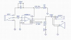 from schematic to protoboard building a simple lm386 guitar amp on picture of translating the schematic to the protoboard