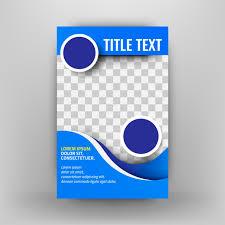 Brochure Template Design Free Vector Flyer Template Design For Business Brochure Leaflet