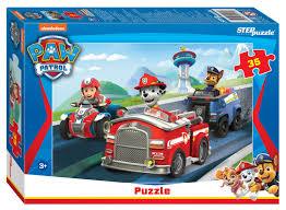 <b>Пазл Step Puzzle Никелодеон</b> Щенячий патруль, артикул: 91179 ...