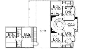 Dramatic Spiral Staircase - 12072JL floor plan - 2nd Floor