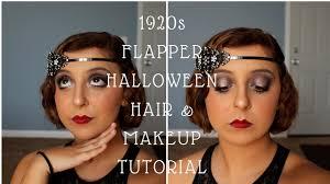 1920s flapper hair makeup tutorial