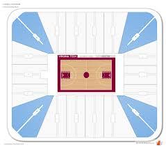 cell coliseum corner seating chart