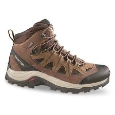 salomon men s authentic ltr gtx hiking boots waterproof black coffee choc brown