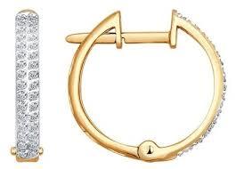 SOKOLOV <b>Серьги кольца с бриллиантами</b> 1020519 — купить по ...