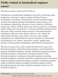 Resume Biomedical Engineering Top 8 Biomedical Engineer Resume Samples