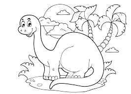 Geweldige Dinosaurus Kleurplaat Printen Krijg Duizenden