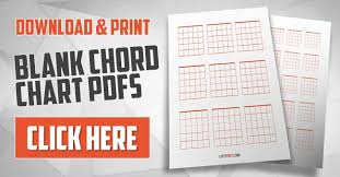 Blank Guitar Chord Charts Download Print
