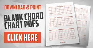 Blank Chord Chart Blank Guitar Chord Charts Download Print