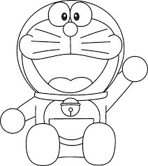 The blue robotic cat and the lazy nobita waiting for you to live together amazing adventures. Doraemon Coloring Pages Coloring Home