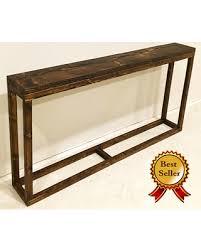 narrow sofa table. Long Console Table / Narrow Entryway Behind Couch Sofa