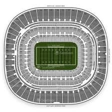 panthers stadium map bank of america stadium seating chart