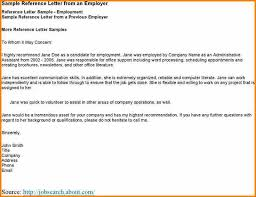 8 Recommendation Letter Sample For Student From Employer Appeal