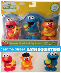 Sesame Street Bath Squirters | Elmo, Sesame streets and Toy