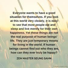 Truly Happy Kwan Um School Of Zen