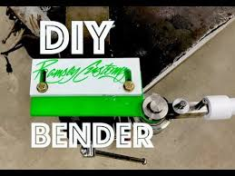homemade diy metal bender oxtoolco design steel aluminum stainless similar to swag offroad you