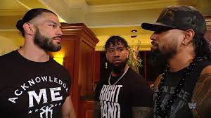Is Jimmy Uso with Roman Reigns or ...