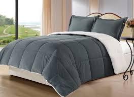 queen sherpa blanket. Exellent Blanket Get Quotations  Cozy Beddings 3Piece Down Alternative Mini Comforter Set  With Pillow Case Borrego Sherpa With Queen Blanket Alibabacom