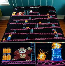 8-Bit Knitted Quilts – www.ohmz.net & 8-Bit Knitted Quilts Adamdwight.com