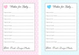 Wishes For Baby Template Wishes For Baby Free Printable Popisgrzegorz Com
