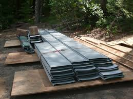 how to install a standing seam metal roof flashing