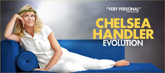 Chelsea joy handler, better known as chelsea handler, is a famous american comedian actress. Chelsea Handler Evolution Television Academy