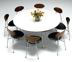 6 seat kitchen table 6 seat round dining table fancy charming interior model according to modern