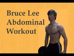 bruce lee personal abdominal workout remake in hd