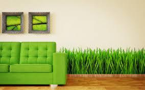 Grass Couch Download Wallpaper 3840x2400 Couch Grass Interior Design Green