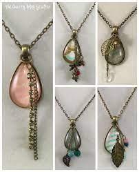how to make a handmade pendant necklace