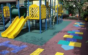 outdoor playground rubber mats and flooring