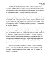 genetic engineering brielle jones ap lang rd period synthesis  1 pages tim obrien piece kammerad