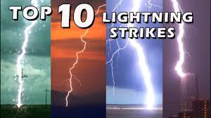 Biggest Lighting Strike Top 10 Best Lightning Strikes