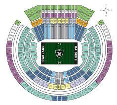 La Rams Seating Chart 2 Oak Raiders Vs La Rams Tickets 2nd Row From Field