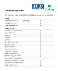 Free Monthly Household Expenses Template Excel Simple Budget For