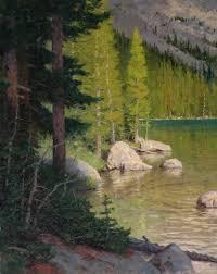 ralph oberg cramer lake sline oil 30 x southwest art