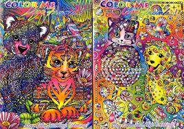 color me lisa frank 2 pack